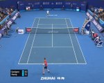 Murray wins first ATP singles match since January