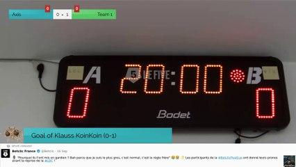 Goal of Klauss KoinKoin (0-1)