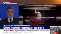 """Pour François Fillon, """"il était difficile d'avoir des conflits avec Jacques Chirac"""""""