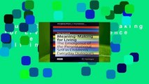 Full E-book  Meaning-Making for Living: The Emergence of the Presentational Self in Children s