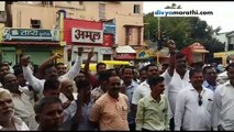 NCP protest against action taken on Sharad Pawar by ED