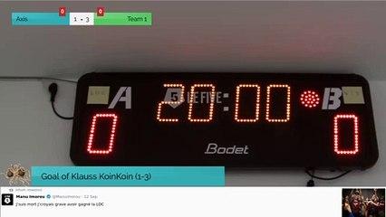 Goal of Klauss KoinKoin (1-3)