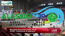 Secondes parties de poules, Double U18, Mondial Jeunes U18 et U23, Alassio 2019