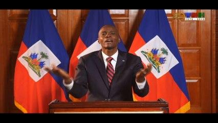Adresse à la Nation du Président de la République, SEM Jovenel MOISE