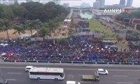 [VLOG] Aksi Demo Mahasiswa Tolak Pengesahan RKUHP dan RUU KPK Berakhir Ricuh