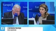 """Immigration et droit d'asile : Gérard Larcher estime que le bilan d'Emmanuel Macron est """"mauvais"""""""