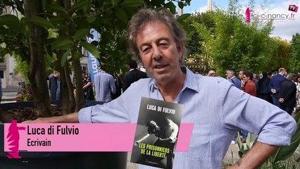 Interview de Luca di Fulvio pour Les Prisonniers de la liberté lors du Livre sur la Place