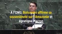 À l'ONU, Bolsonaro affirme sa souveraineté sur l'Amazonie et égratigne Macron