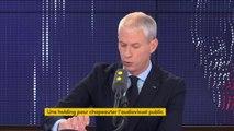 """Une holding pour chapeauter l'audiovisuel public : """"Les décisions sur les contenus resteront dans les entreprises"""" assure Franck Riester"""
