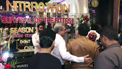 Sunil Shetty at Award Ceremony of Nitrogen by Nitrro Bespoke Fitness