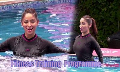 Yami Gautam Hot Underwater Fitness Training