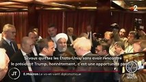Nucléaire iranien : Emmanuel Macron appelle les États-Unis et l'Iran à reprendre les négociations