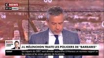"""Interpellé par un manifestant, Jean-Luc Mélenchon qualifie des policiers de """"barbares"""" - VIDEO"""