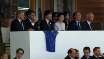 Prince Akishino attends first Rugby World Cup 2019 match at kamaishi