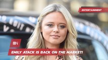 Emily Atack Is Back To Being Single