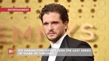 Kit Harington Didn't Finish Watching His Own Show