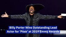Billy Porter Makes LGBTQ Emmy History