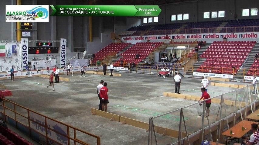 Q1, tir progressif U18, Mondial Jeunes U18 et U23, Alassio 2019