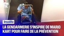 La gendarmerie profite de la sortie de Mario Kart pour faire de la prévention