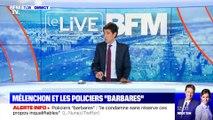 """Mélenchon et les policiers """"barbares"""" (5/5) - 25/09"""