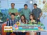 Binibining Pilipinas 2015 winners, bumisita sa UKG