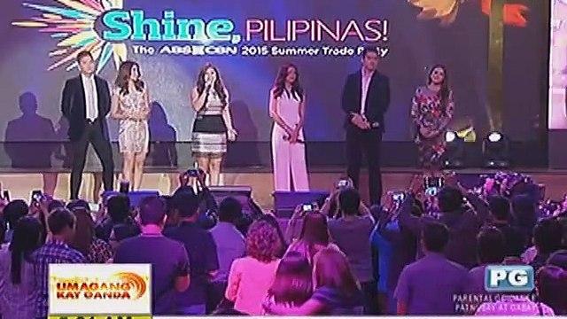 ABS-CBN, inanunsyo na ang mga bagong show at teleserye