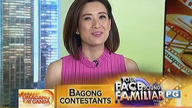 """Mga bagong celebrity contestants sa """"""""Your Face Sounds Familiar"""""""", ipinakilala na"""