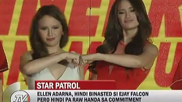 Ellen Adarna, hindi binasted si Ejay Falcon pero hindi pa raw handa sa commitment