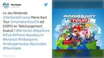 Le jeu de course Mario Kart débarque sur les smartphones ce mercredi
