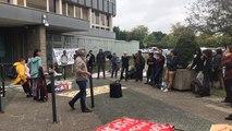 À Rennes, les soutiens aux migrants interpellent la préfète