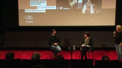 Dialogue entre Melvil Poupaud et Sarah Chiche