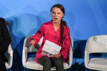 Greta Thunberg hält eine historische und bewegende Ansprache an die UNO