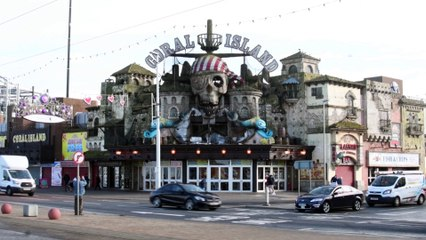 Coral Island's iconic pirate marquee damaged by fire