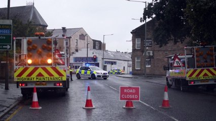 Police confirm 'suspicious' object which sparked major alert in Burnley was a suitcase