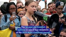 Greta Thunberg Wins 'Alternative Nobel Prize'