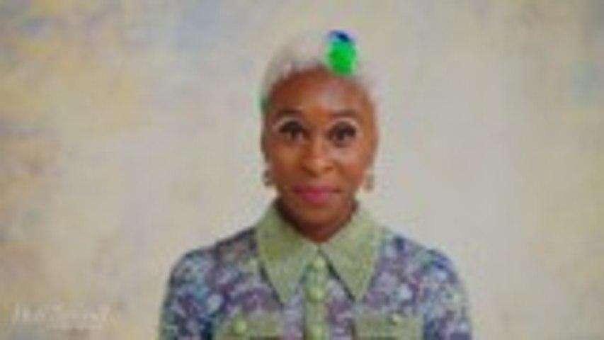 Cynthia Erivo's Makeup Tutorial with Makeup Artist Terrell Mullin
