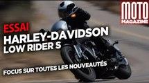 Harley Davidson Low Rider S - nouveautés moto 2020