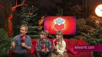 """Lisa & Lena - Mit den Lochis im Interview bei """"Ein Herz für Kinder"""" vom 08.12.2018"""