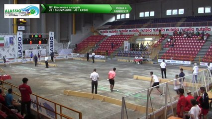 Q2, tir rapide en double U18, Mondial Jeunes U18 et U23, Alassio 2019