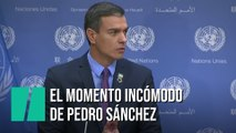 """""""Estoy terminando..."""": Pedro Sánchez vive uno de sus momentos más incómodos"""
