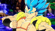 """DRAGON BALL FIGHTERZ """"Gogeta Blue"""" Bande Annonce Gameplay"""