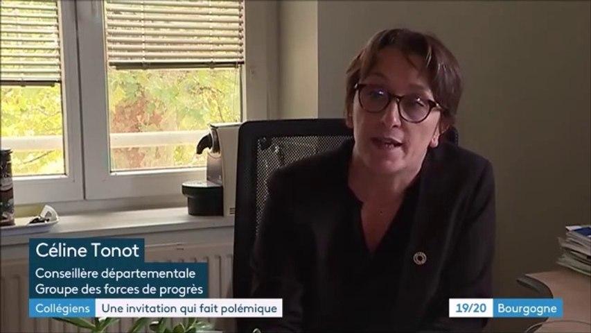 Reportage avec Céline TONOT lors du JT 19/20 de Bourgogne Franche Comté