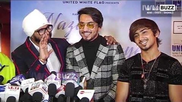 Faisu, Adnan, Hasnain and Faiz at the success party of Nazar Na Lag Jaye