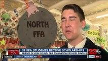 32 FFA students earn scholarships
