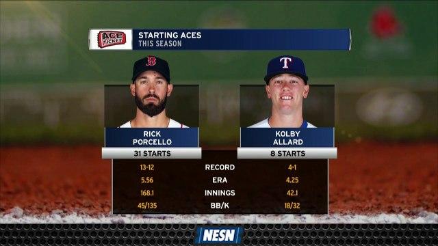 Rick Porcello Looks To Extend Hot Streak Wednesday Night Vs. Rangers