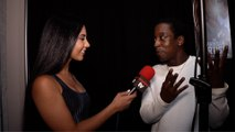 Shaka Smith Interview 'The Chainsaw Artist' Gallery Event Red Carpet