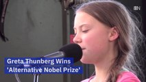 Greta Thunberg's Latest Award