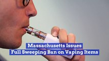 Massachusetts Slams Vaping