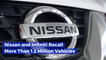 Nissan And Infinite Recall Over 1 Million Cars