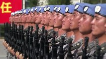 Soldiers prepare for China's 70th anniversary parade
